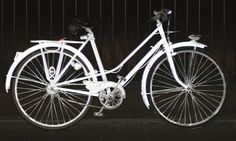 Volvo's reflective paint sells out: Spray-on 'light' is a hit with cyclists