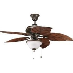 @Progress Lighting # ChandelierTip  When installing a chandelier above a table  sc 1 st  Pinterest & Progress Lighting Ceiling Fans - 52 Air Pro 5 Blade Ceiling Fan ... azcodes.com