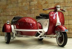 Piaggio Vespa Scooter and Sidecar. Cheap Piaggio Vespa Scooter and Sidecar for Sale. Piaggio Vespa, Scooters Vespa, Lambretta Scooter, Scooter Motorcycle, Motor Scooters, Triumph Motorcycles, Vintage Motorcycles, Custom Motorcycles, Key West