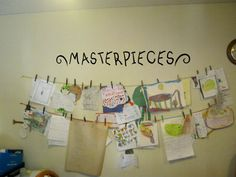 http://www.etsy.com/listing/95620819/masterpieces-vinyl-wall-decal-4x37