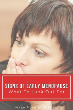 Click here if you want to learn all about the possible signs of early menopause that you need to be aware of and how to get the support you need if you get this diagnosis. #menopause #earlymenopause #perimenopause #midlife #magnificentmidlife Early Menopause, Menopause Symptoms, Stuck In The Middle, Question Everything, Spiritual Development, Life Plan, Self Talk, Personal Goals, Hormone Balancing