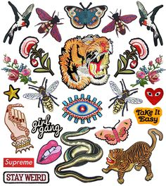 our favorite iron-on patches