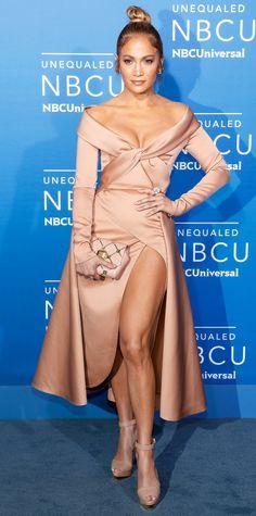 J. Lo goes blush.