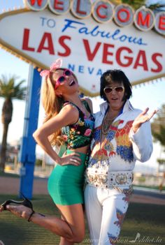 "Welcome to Fabulous Las Vegas Outfit with ""Elvis"""