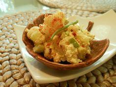 "Vegan Cauliflower-Tofu ""Potato"" Salad   The Blooming Platter of Vegan Recipes"