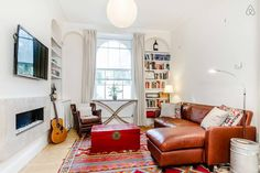 Lovely 2 bed apartment with sunny garden & barbecue! 10 mins away from Kings Cross, London.