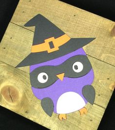 "These Halloween decorated owls are perfect for your owl themed classroom or just to help you decorate for fall! These owls are made from card stock and measure approximately 5 1/2"" x 4 1/2"". These owl"