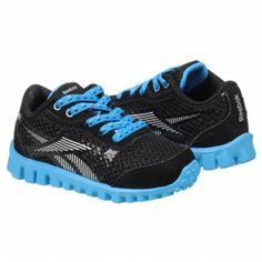 Reebok RealFlex Optimal Tod Shoes (Black/Blue/Silver) - Kids' Shoes - 10.0 M