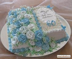 bday cake for girl Buttercream Flower Cake, Cake Icing, Cupcake Cakes, Gorgeous Cakes, Pretty Cakes, Cute Cakes, Cake Decorating Techniques, Cake Decorating Tips, Open Book Cakes