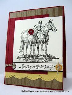 Stampin' Seasons: Saddle Up! FabFri01