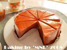Thai Tea Cake