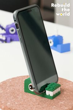 Who wouldn't want to create one of these fun phone dock hacks? A Dock-a-dile, Dock-ta-pus, and Hump-dock-whale – oh my! What creative ideas for device stands do you have? When you build something, share it using #RebuildTheWorld and find other compelling stories and ideas at www.LEGO.com/RebuildTheWorld