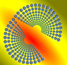 Concentrate on the picture and see the broken part joining together.