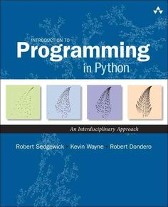 Today, anyone in a scientific or technical discipline needs programming skills. Python is an ideal first programming language, and Introduction to Programming in Python is the best guide to learning i