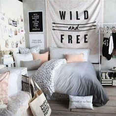 Teen Girl Bedroom Makeover and Decorating Ideas - Teenage Room Makeover on a Budget - cheap : teenage-room-girl - designwebi.com