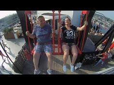 Over the edge at Adamlookout Travel Videos, Channel, About Me Blog, Sky, Youtube, Heaven, Heavens, Youtubers, Youtube Movies