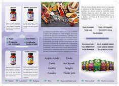 Triptico interior Organic India Folheto desenvolvido para o lançamento da gama em Portugal. #zurcetraud #organicindiaemportugal #zurcetraudbio