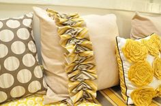 Little Cost, Big Impact:  Decorating with Decorative Pillows