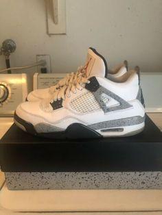 wholesale dealer 97fa5 422a5 Air Jordan 4 Retro OG Cement Sz 11 Air Jordan Iv, Retro 4, Black