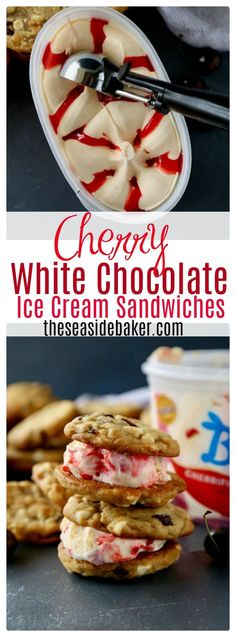 Chewy White Chocolate Chip Cookies With Dried Cherries Ice Cream Sandwiches Sohoppingood Bluebunny Walmart Ad