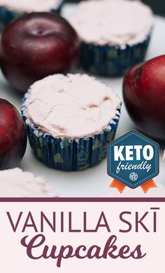 Vanilla SKĪ + Fairy Dust are BIG hits lately. So much so, that we married our two newest flavors in one delicious keto treat!     #keto #pruvit #ketocupcakes #ketorecipes #ketodesserts #pruvitrecipes