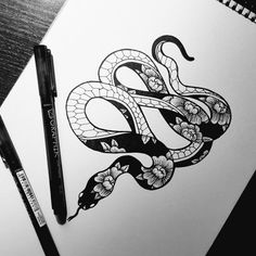 Crazy when I get my snake tattoo this is exactly how I wanted my snake to be🤘. - Crazy when I get my snake tattoo this is exactly how I wanted my snake to be🤘🏼 - Hot Tattoos, Body Art Tattoos, Sleeve Tattoos, Tattos, Tattoo Sketches, Tattoo Drawings, Crazy Drawings, Kunst Tattoos, Geniale Tattoos