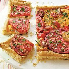 Savory Tomato Pie Recipes: Herbed Tomato Tart