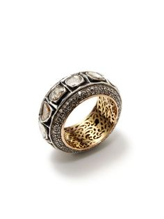 The details are beautiful! Champagne Diamond Eternity Band Ring by Blake Scott @GiltGroupe