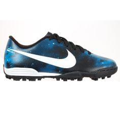 bd534e58f Nike Mercurial Vortex Junior Astro Turf Trainers designed for fast-paced  play like Christiano Ronaldo on astro turf with great traction.