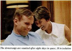 From Life, 22 August 1969: photographs of the three Apollo 11 astronauts returning to their wives. / via @Paul Mison