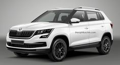 Skoda's Hyundai Creta rival: What it'll look like Skoda Suv, Hot Rides, Crossover, Super Cars, Volkswagen, Product Launch, Vehicles, Proposition, Voici