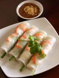 "How to Make Vietnamese Fresh Springroll ""Goi Cuon"" Easily"
