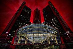 Panic In Detroit - GM Renaissance Center