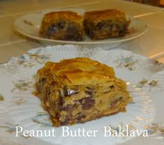 Peanut Butter Baklava - this is amazing!