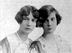 "Princesses Natalie and Irina Pavlovna     Paley. ""AL"""