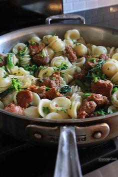 Pasta Recipes on Pinterest | Chicken Sausage Pasta, Pasta and Homemade ...
