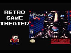Retro Game Theater - The Lawnmower Man SNES