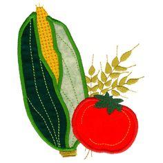 Free Embroidery Design: Corn