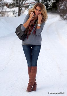 Perfect look ♥ Love her style and her blog! - http://www.rantapallo.fi/mungolife/ - #Style #Fashion