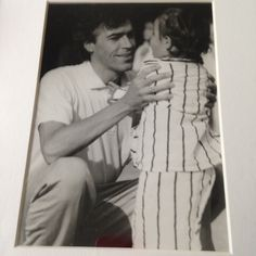 Me and my dad... Way back. Love this photo!