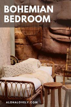 Create the bohemian bedroom of your dreams. - boho style - boho bedroom decor - boho chic - bedroom ideas - bohemian bedroom decor - boho chic inspiration bedroom decoration - boho living room - bedroom diy #bohobedroom #bohochic #bedroomdecorideas Bohemian Bedroom Decor, Boho Living Room, Boho Decor, Dream Master Bedroom, Bohemian Interior Design, Do It Yourself Home, Boho Style, Bedroom Ideas, Dreams