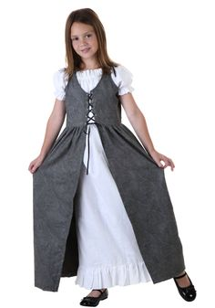 Big Girls' Renaissance Faire Costume Large