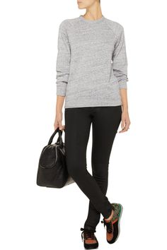 T by Alexander WangCotton-blend French terry sweatshirtfront