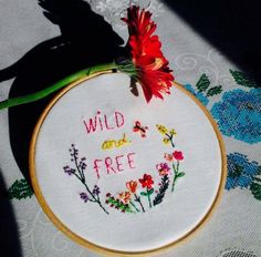#Embroidery  #Handembroidery #Hoop #Handmade #Nedlework #Flowers #Spring #Cuteness #Broder #nedlepoint