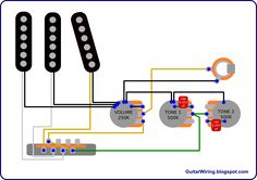The Guitar Wiring Blog - diagrams and tips: Stratocaster Double Tone Control Mod
