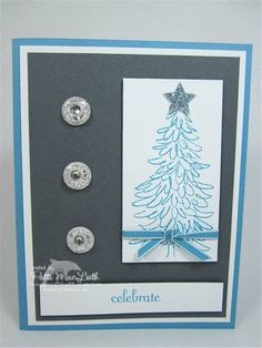 Evergreen Christmas by Patimac1980 - Cards and Paper Crafts at Splitcoaststampers