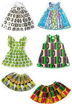 African childrens clothing at Ogekko