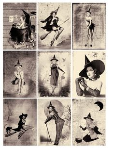 halloween witch One Blank Dream: Free Sexy Pin Up Halloween Witches ATC Background Retro Halloween, Halloween Fotos, Halloween Pin Up, Holidays Halloween, Halloween Crafts, Halloween Decorations, Halloween Witches, Halloween Costumes, Halloween Makeup