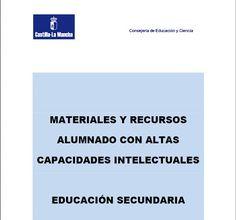 Materiais e recursos para o alumnado con altas capacidades intelectuais (Educación Secundaria) ~ Orientación en Galicia