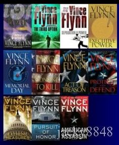 Vince Flynn's Mitch Rapp. Love these books too! ( i don't think there is a book i haven't liked)